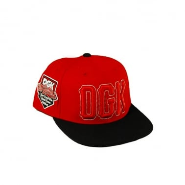 Getters Snapback - Red/Black