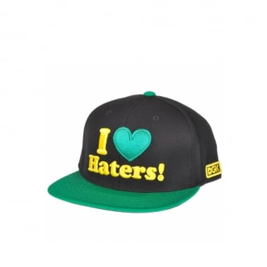 Haters Snapback - Black/Green