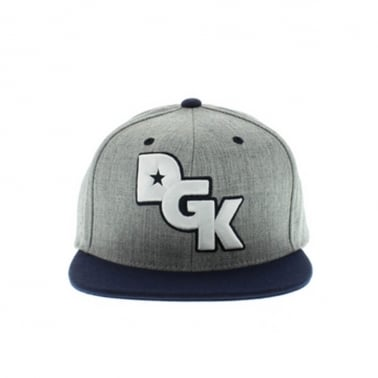 Stagger Snapback - Athletic Heather