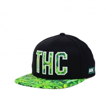 THC Snapback - Black