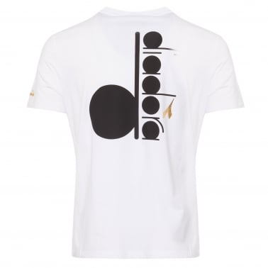 Back Print T-Shirt - Optical White