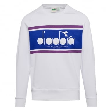 Spectra Sweatshirt - Optical White/Navy
