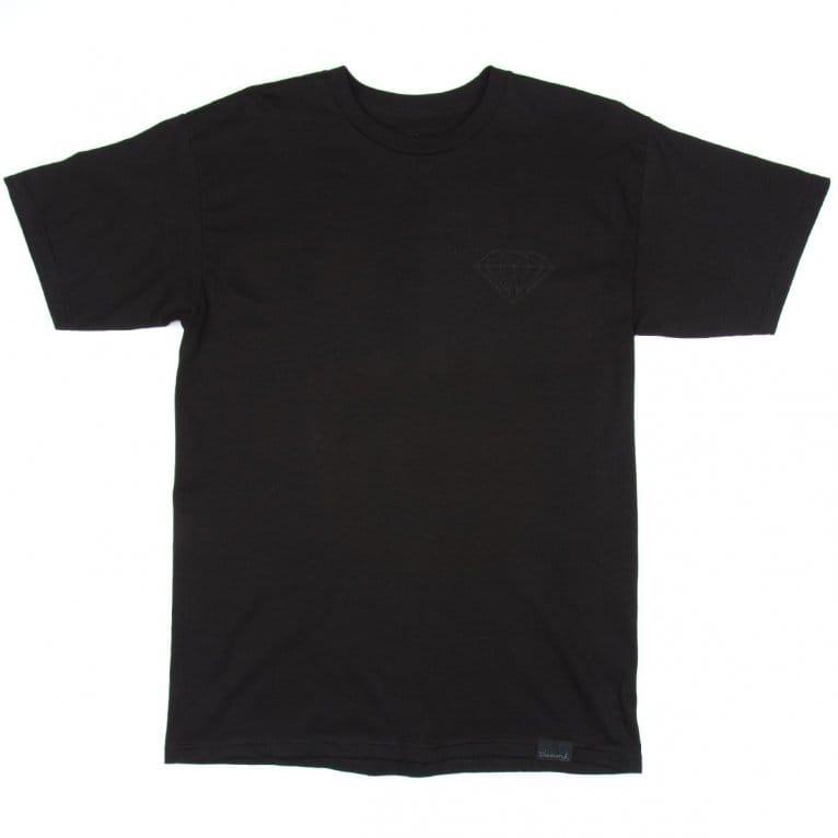 Diamond Supply Co. Blackout Brilliant T-shirt - Black