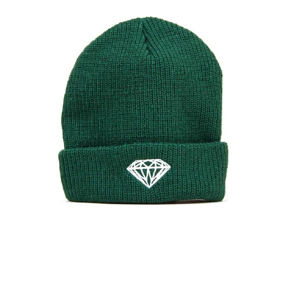 4767c4cda43 Diamond Brilliant Beanie Green