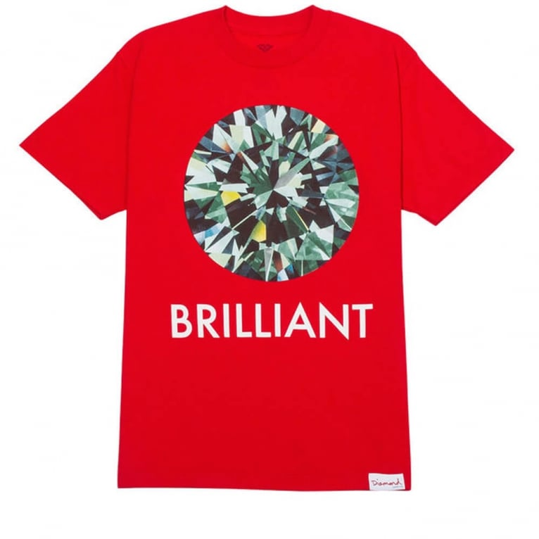 Diamond Supply Co. Brilliant T-shirt - Red
