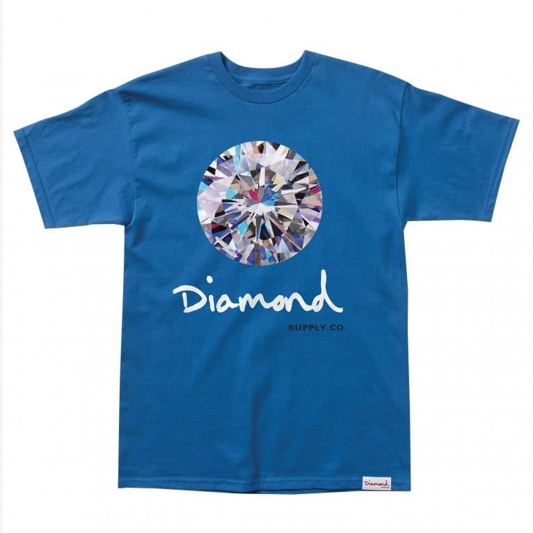 Diamond Supply Co. Brilliant T-shirt - Royal/Blue