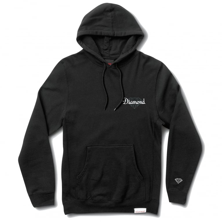 Diamond Supply Co. Champagne Cut Hoodie - Black