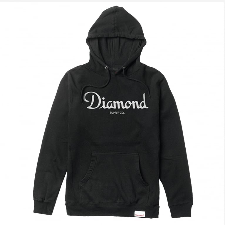 Diamond Supply Co. Champagne Hoodie - Black