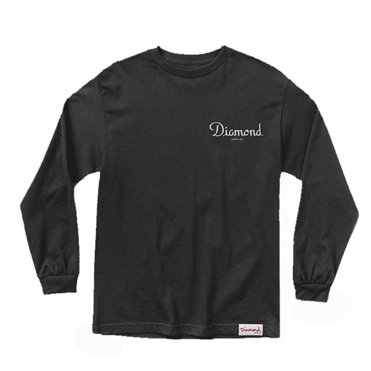 Diamond Supply Co. Champagne Long Sleeve T-Shirt
