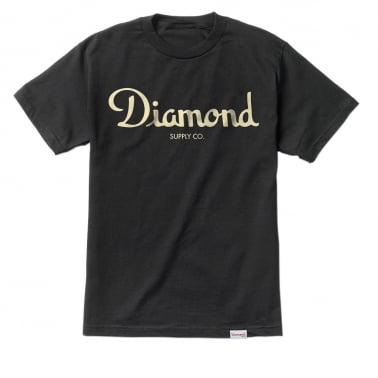Champagne Script T-shirt