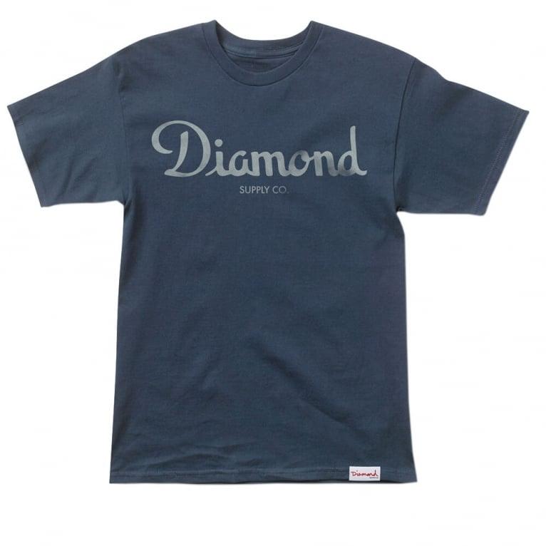 Diamond Supply Co. Champagne Script T-shirt