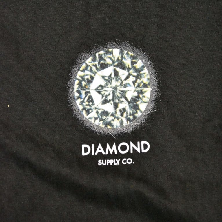 Diamond Supply Co. Clarity Long Sleeve T-shirt - Black