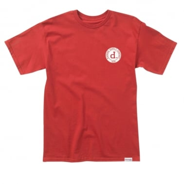College Seal T-shirt - Red