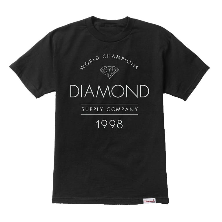 Diamond Supply Co. Craftsman T-shirt - Black