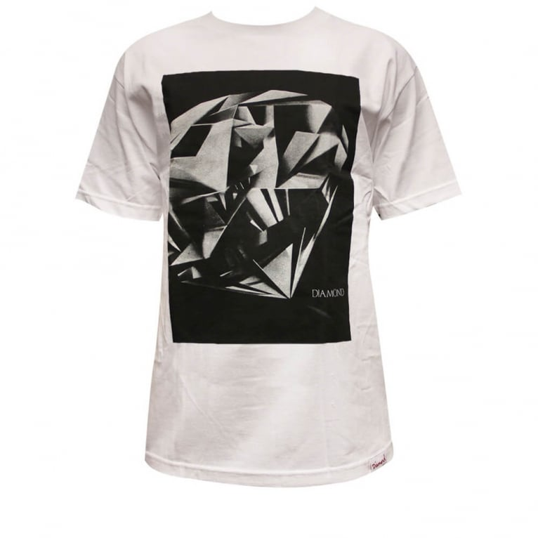 Diamond Supply Co. Cut T-shirt - White