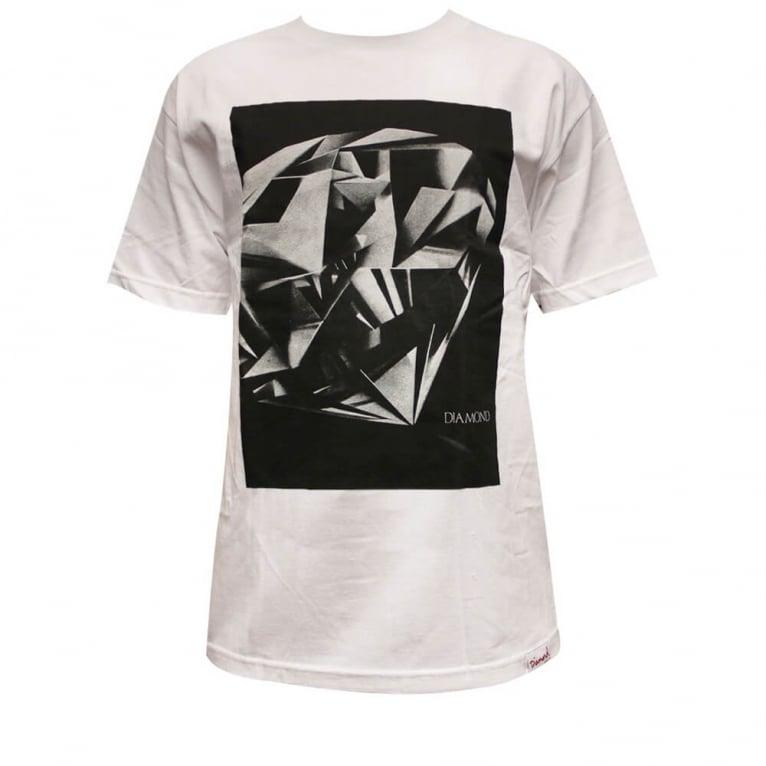 Diamond Supply Co. Cut T-shirt - White