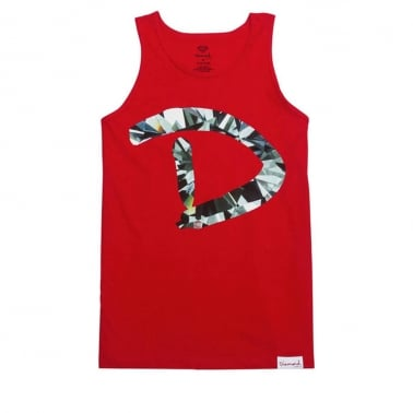 D Simple Tank - Red