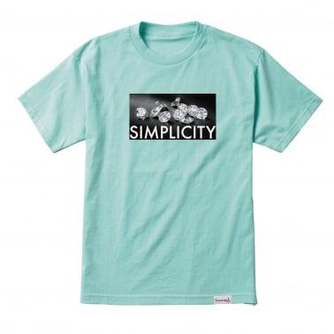 Definition T-Shirt - Diamond Blue