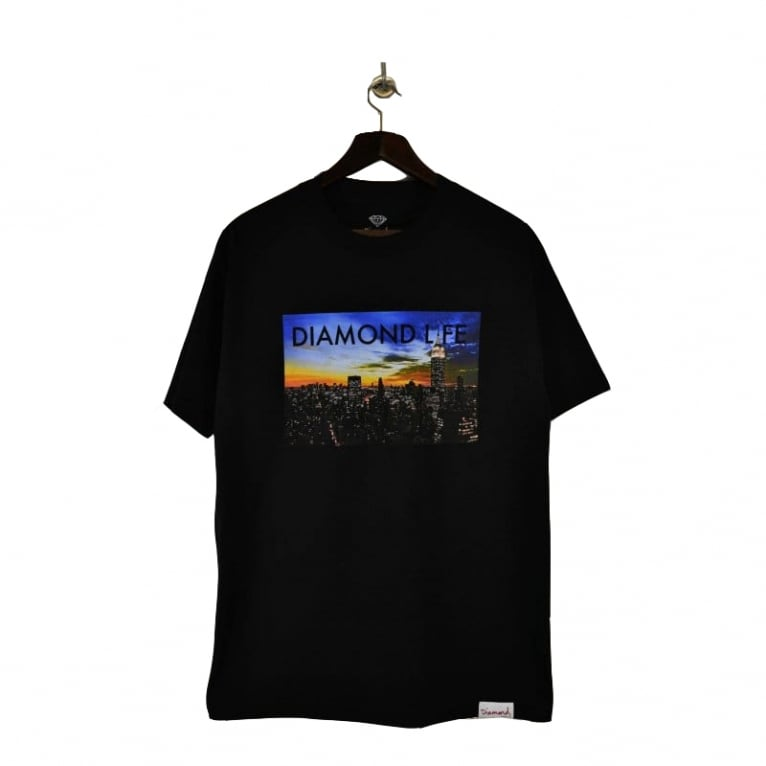 Diamond Supply Co. Dia Life New York T-shirt - Black
