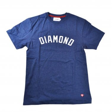 Diamond Arch T-shirt - Navy Heather