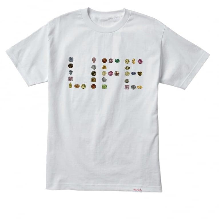 Diamond Supply Co. Diamond Life T-shirt - White