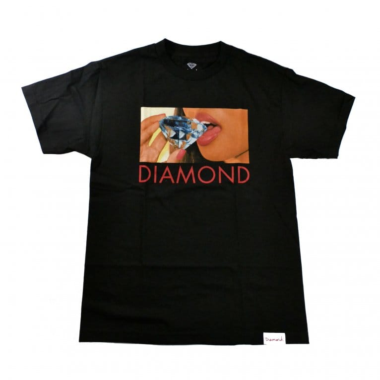 Diamond Supply Co. Diamond Lips T-shirt