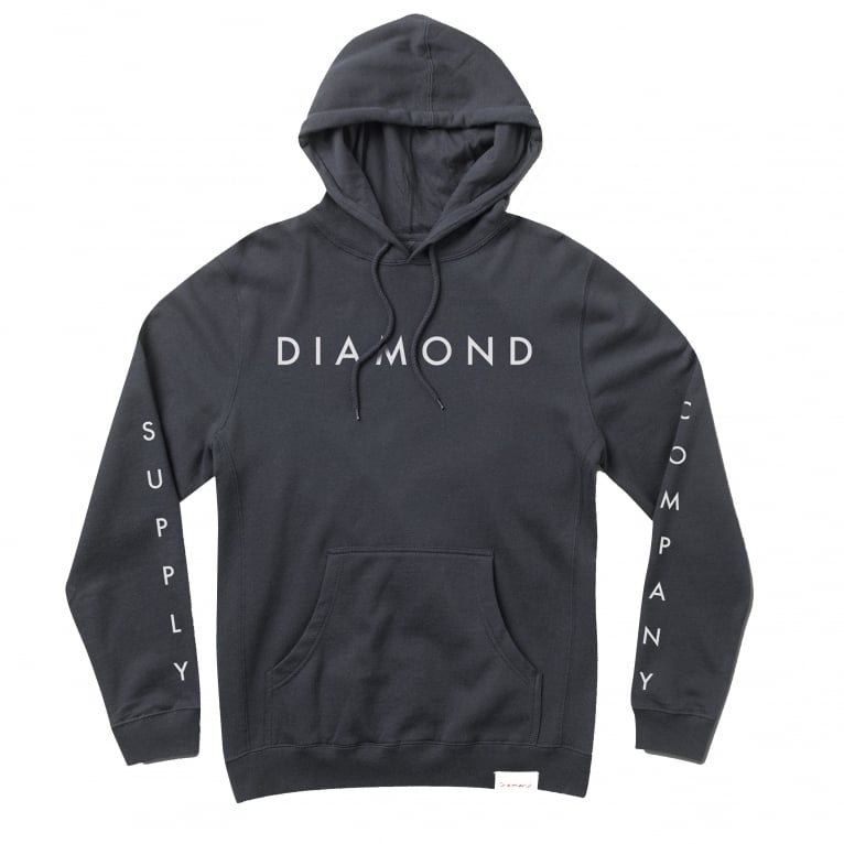 Diamond Supply Co. Diamond Supply Hoodie  - Navy
