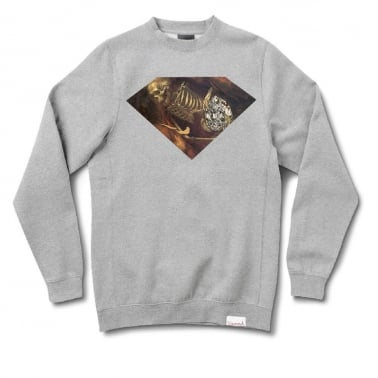 Diggers Crewneck Sweatshirt - Heather Grey