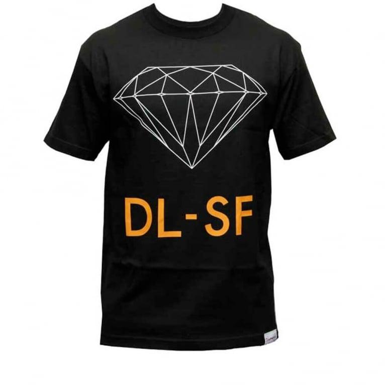 Diamond Supply Co. Dl-SF T-shirt - Black