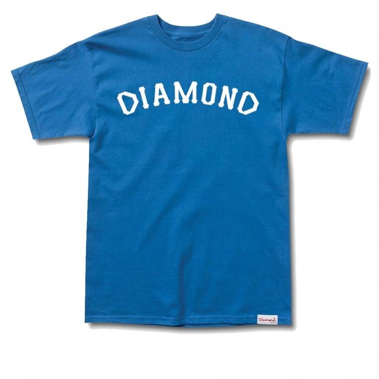 Diamond Supply Co. Dugout '98 T-shirt - Royal Blue