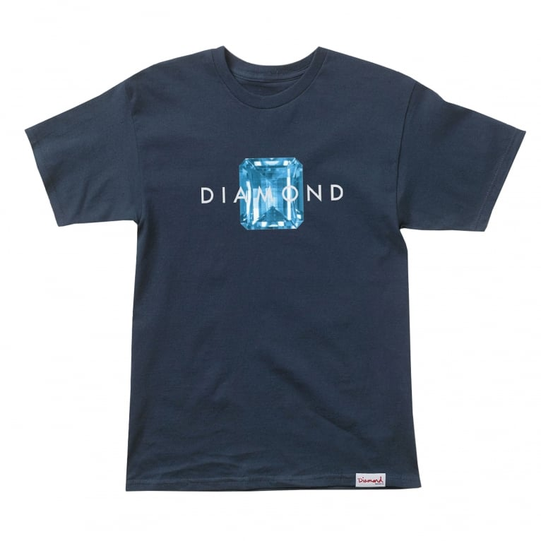 Diamond Supply Co. Emerald Cut T-Shirt - Navy