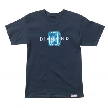 Emerald Cut T-Shirt - Navy