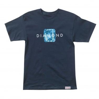 Emerald Cut T-Shirt - Navy