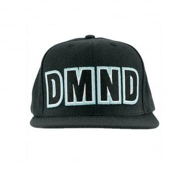 Felt DMND Snapback - Black/Black
