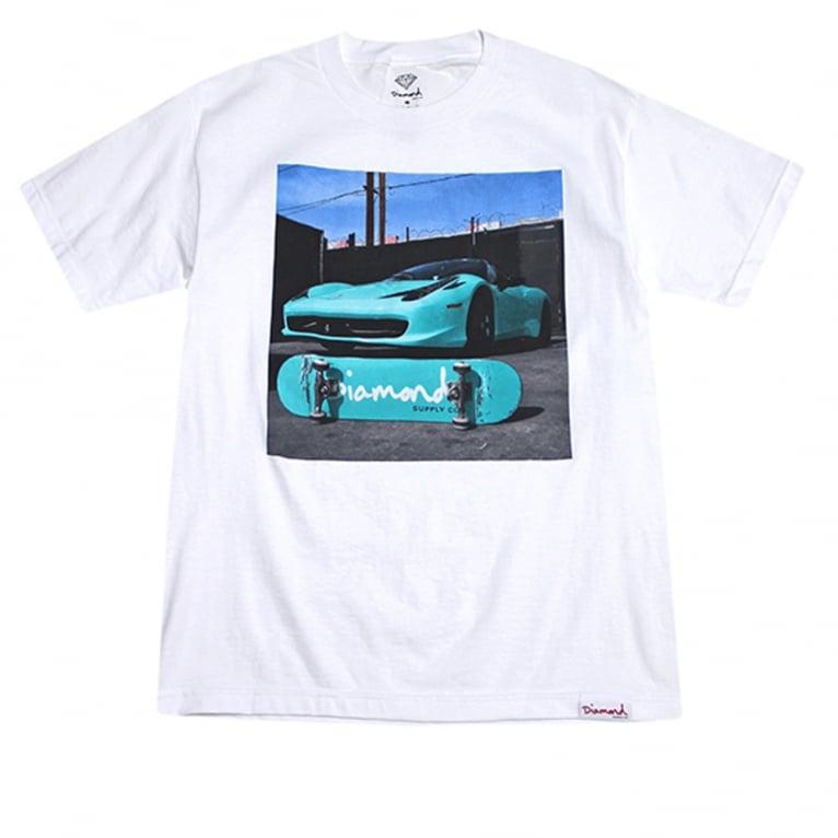 Diamond Supply Co. Ferrari T-shirt - White