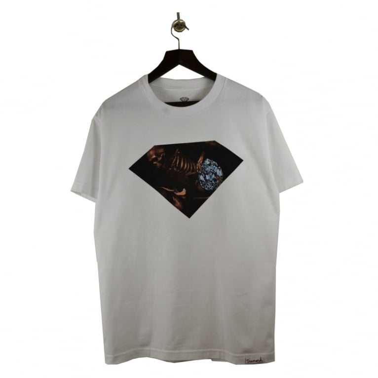 Diamond Supply Co. Grave Diggers T-shirt - White