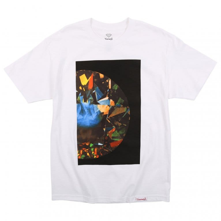 Diamond Supply Co. Half Diamond Tee - White