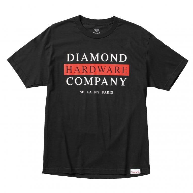 Diamond Supply Co. Hardware T-shirt - Black