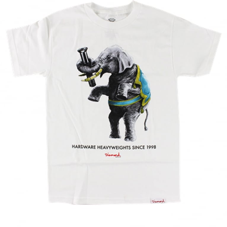 Diamond Supply Co. Heavyweights T-shirt - White