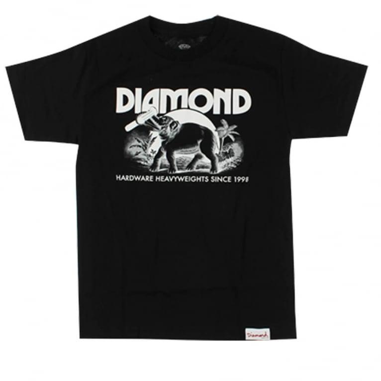 Diamond Supply Co. Ivory T-shirt - Black
