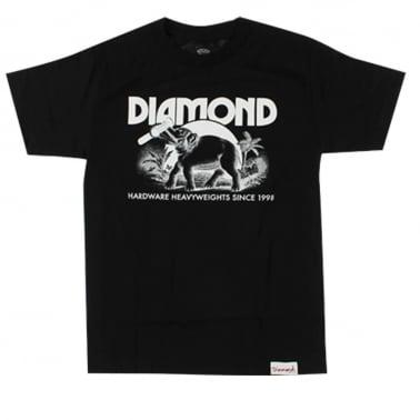 Ivory T-shirt - Black