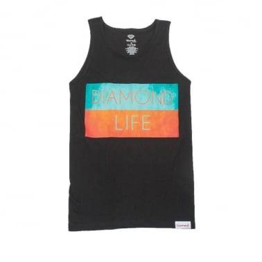 Life Flag Tank Top - Black