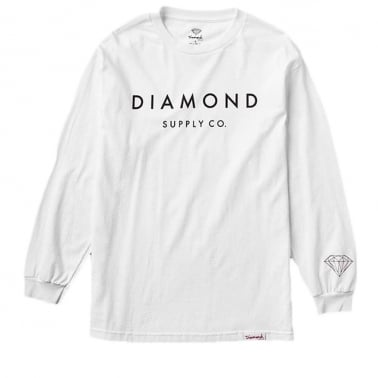 Long Sleeve Stone Cut T-shirt
