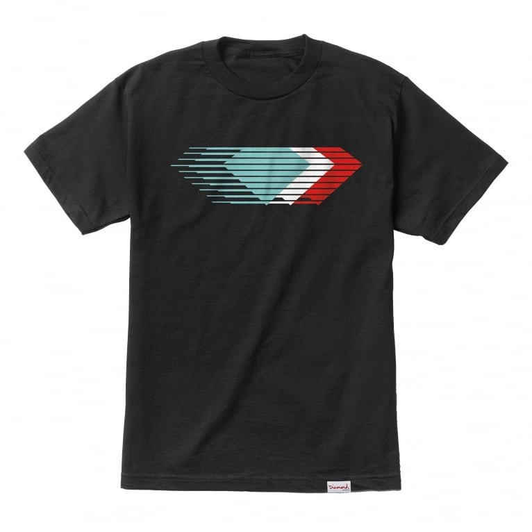 Diamond Supply Co. Motion T-Shirt - Black