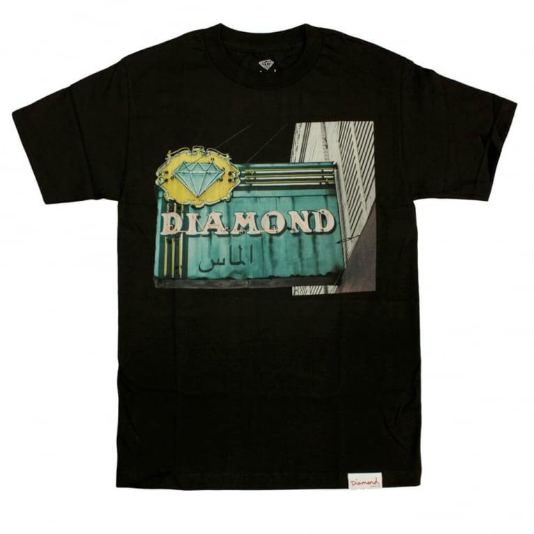 Diamond Supply Co. Neon T-shirt - Black
