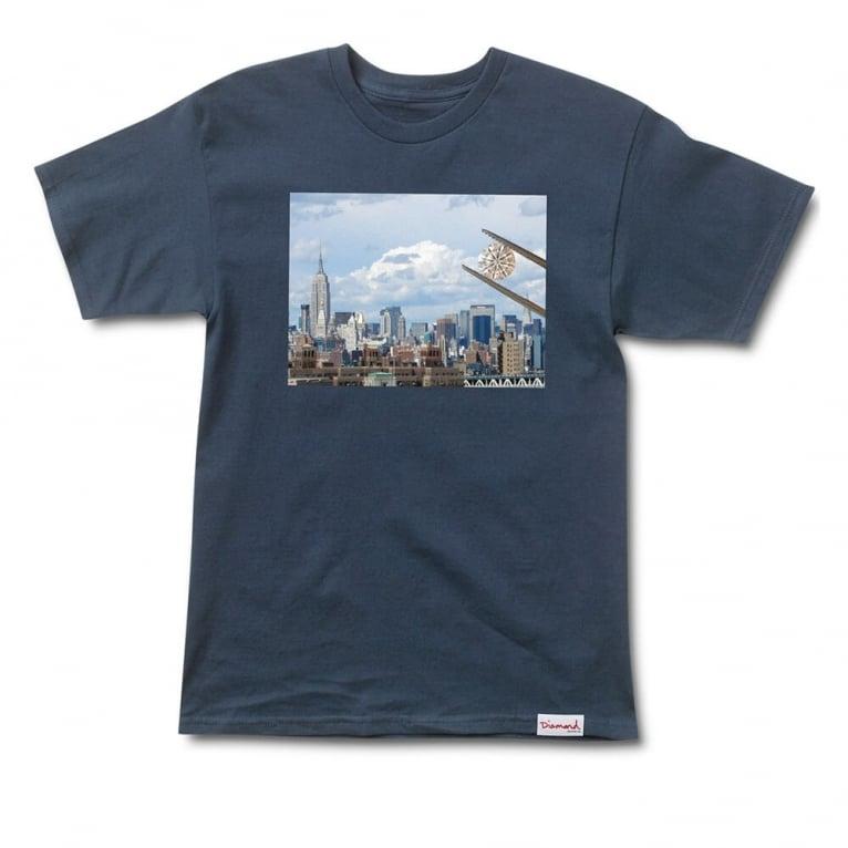 Diamond Supply Co. NY T-shirt - Navy