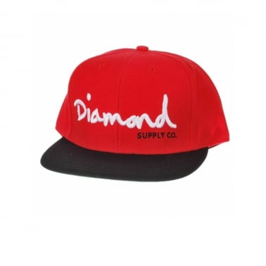Og Logo Snapback - Red/Black