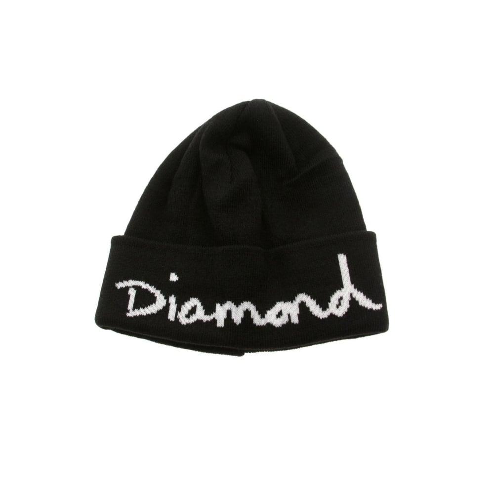 3441ed4ea Diamond Supply Co. Og Script Beanie - Black