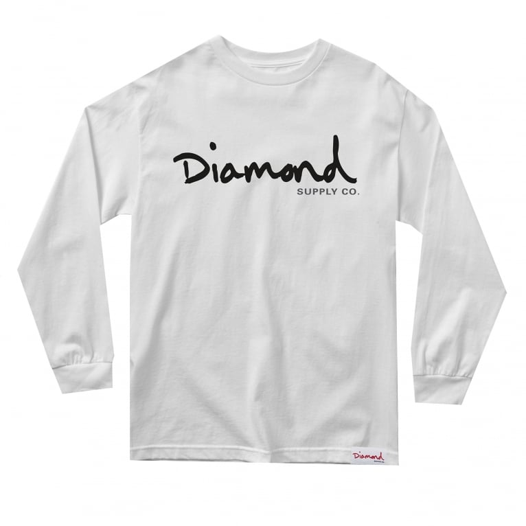 Diamond Supply Co. OG Script Long Sleeve T-shirt