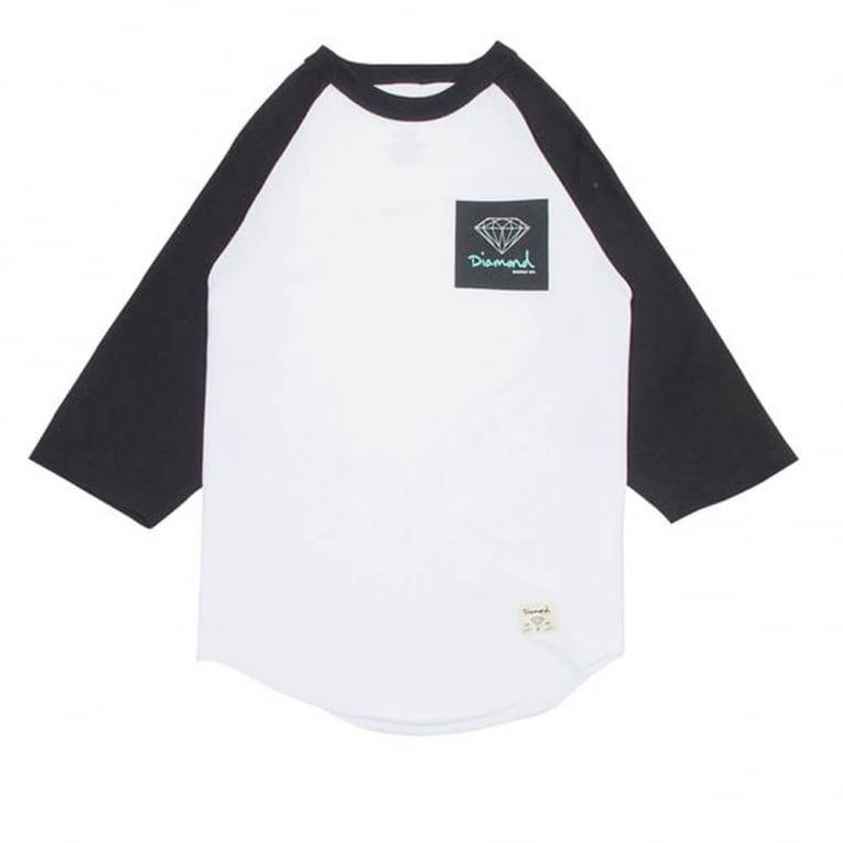 Diamond Supply Co. OG Sign Raglan T-shirt - White/Black